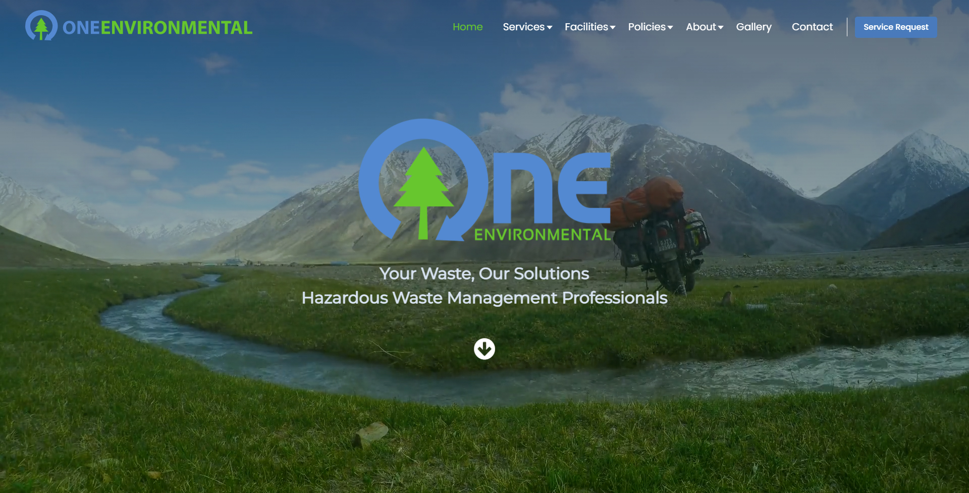 Waste Not, Want Not - A Complete Website Overhaul for One Environmental Inc.