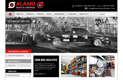 alamo-turbochargers-calgary-website-design