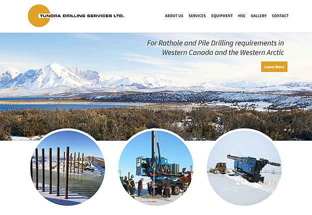 tundra-drilling-calgary-website-design