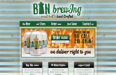bin-brewing-website-design-calgary