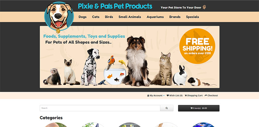 Pixie and Pals Pet Products